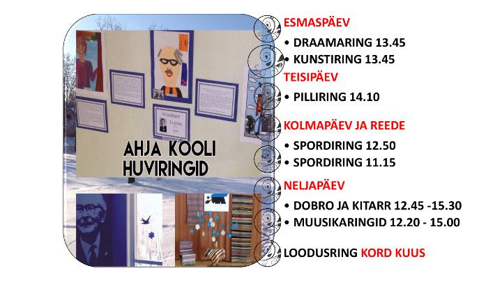 huviringide tabel