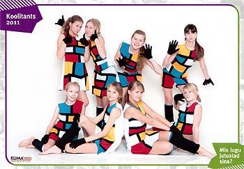 Mondrianlik tants, 2010/2011 5.-8. klass